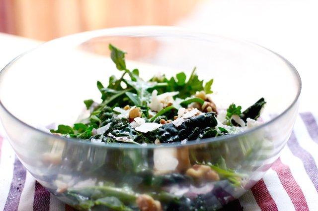Kale salad parm