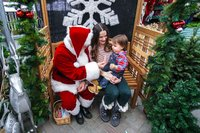 meet santa at wards nursery