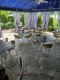 aegean breeze outdoor dining