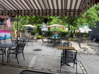 freight yard pub outdoor dining
