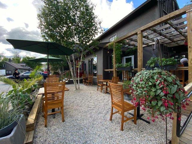 cafe adam outdoor dining