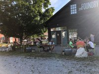 foundry outdoor dining