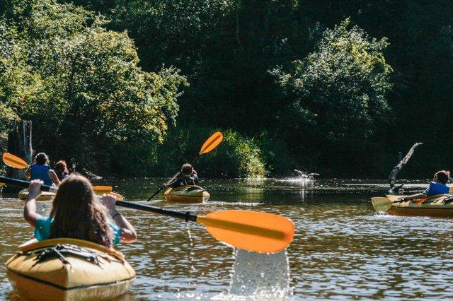 Kayaking Berkshires