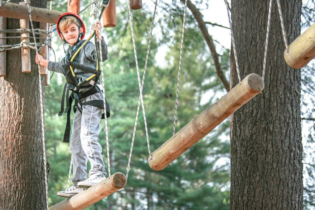 High Ropes Course berkshires