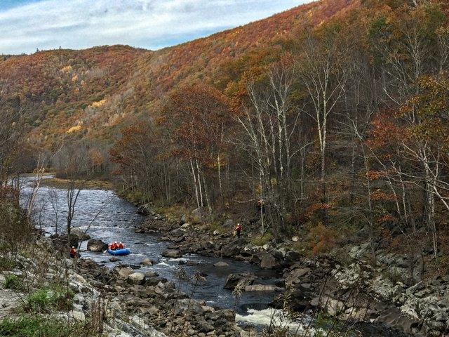 White Water River Rafting Berkshires Zoar