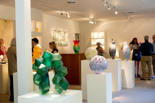 Schantz Galleries Stockbridge Glass Exhibit